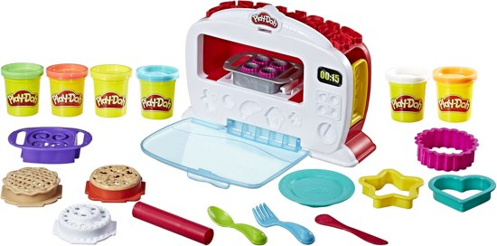 play doh machine oven speelset