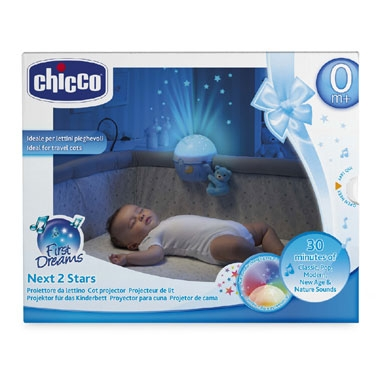 Chicco Next2stars projectielamp – blauw