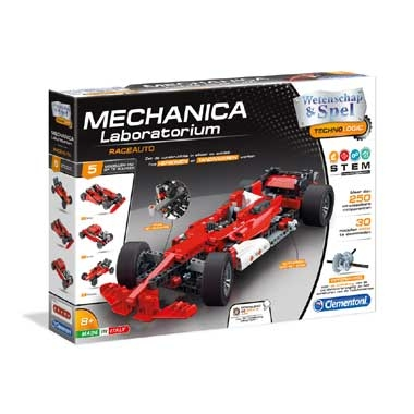 Clementoni mechanisch laboratorium Formule 1