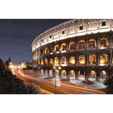 Colosseum by night puzzel – 1000 stukjes
