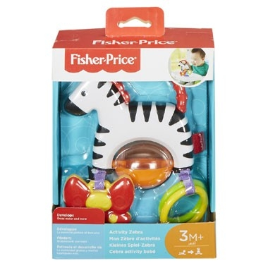 Fisher-Price activiteiten zebra