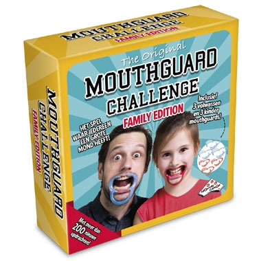 Mouthguard Challenge spel – familie editie