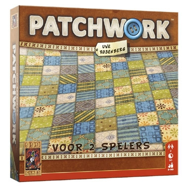 Patchwork – 2 persoons bordspel