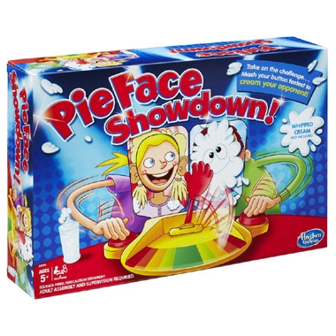 Pie Face Showdown spel
