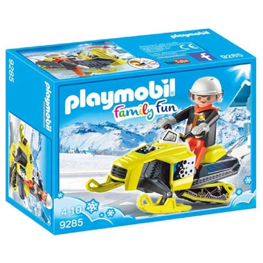 PLAYMOBIL Family Fun sneeuwscooter 9285