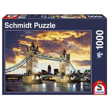 Puzzel Tower Bridge London – 1000 stukjes
