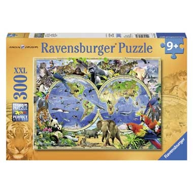 Ravensburger puzzel World of wildlife – 300 stukjes