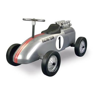 Retro Roller Racing Team Silver