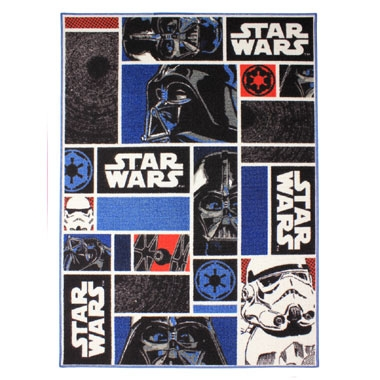 Star Wars iconen speelkleed – 95 x 133 cm